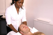 Cranial Osteopathy is a much more subtle approach which can be applied to any part of the body.